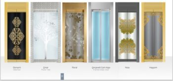 Merih Glass door